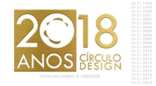 Círculo Design completa 20 anos!